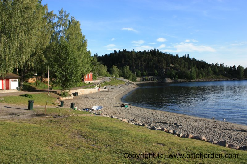 turstier oslo kart Hvervenbukta badeplass Oslo turstier oslo kart