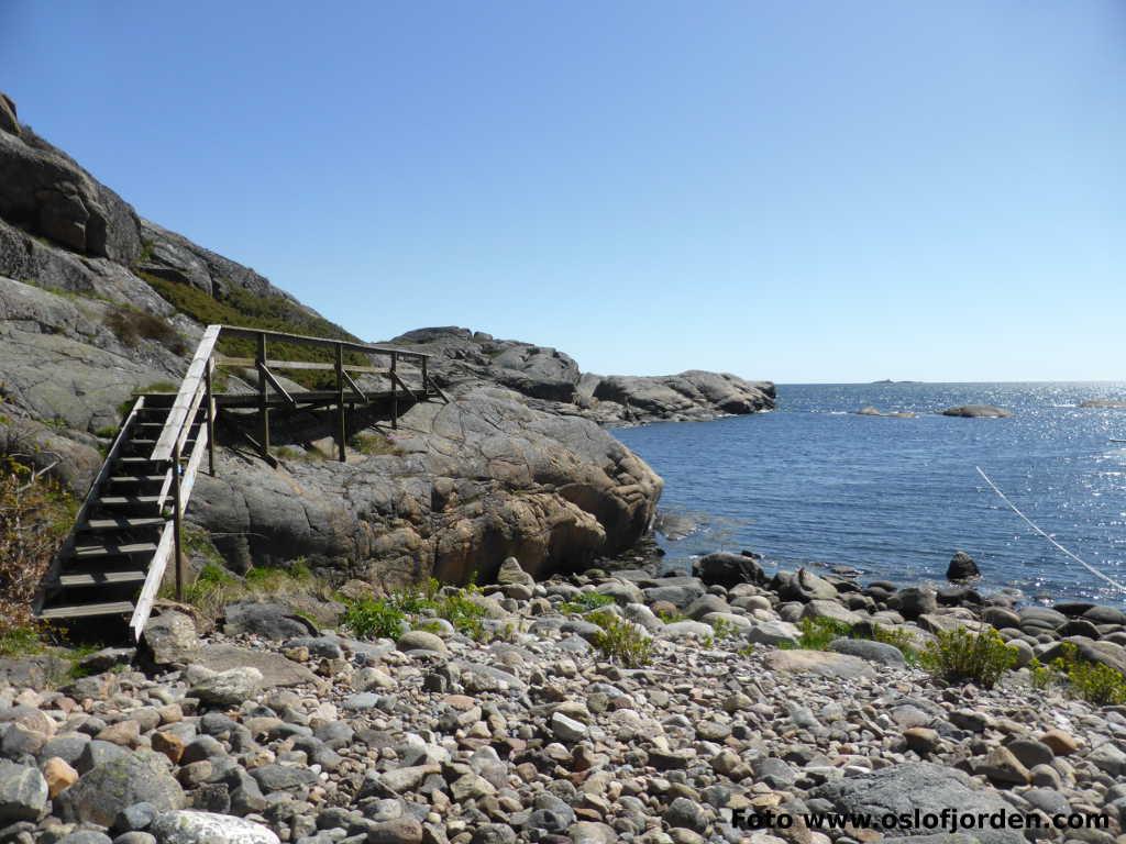 kart kyststien stavern Kyststi Brunlanes Larvik   Stavern   Helgeroa   turforslag kart kyststien stavern